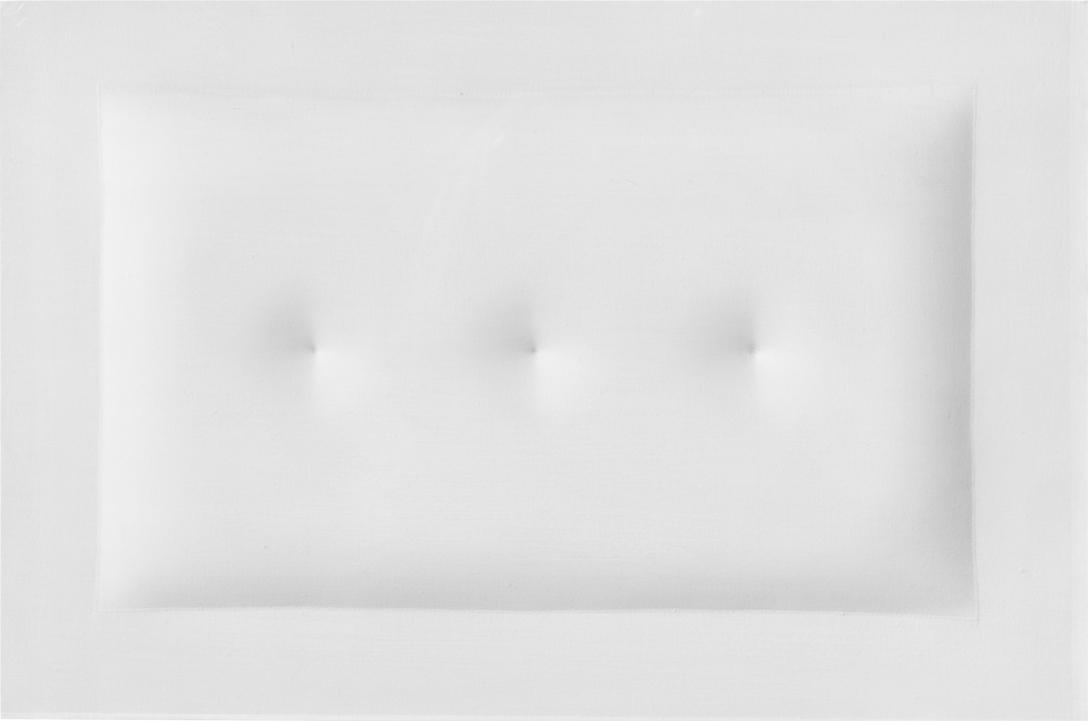 'Bianco', 1963, by Agostino Bonalumi. Photo courtesy of Partners & Mucciaccia Gallery.