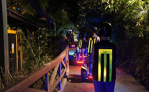 GoGreen After Dark Segway Tour. Photo courtesy of GoGreen Segway Eco Adventure.