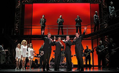 'Jersey Boys'. Photo courtesy of Joan Marcus.