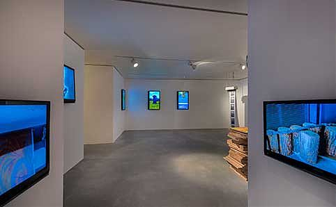 Joo Choon Lin's 'Resolution of Reality' in situ. Photo courtesy of Singapore Tyler Print Intstitute (STPI).