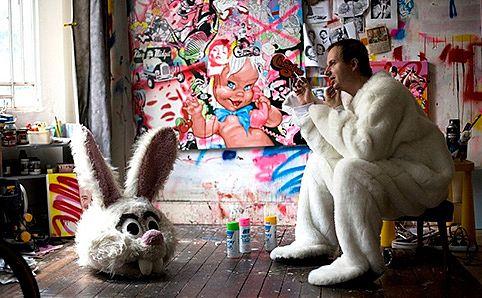 Australian visual artist Ben Frost.