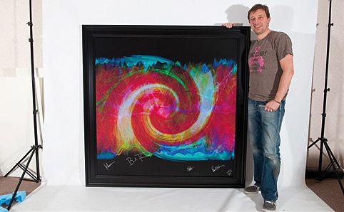 British artist Tim Wakefield.