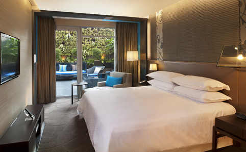 A room at Four Points by Sheraton, Sukhumvit 15, Bangkok.