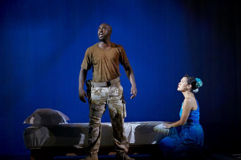 Othello. Photo courtesy of Singapore Repertory Theatre.