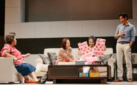 Scene from 'Rabbit Hole'. Photo courtesy of Pangdemonium!