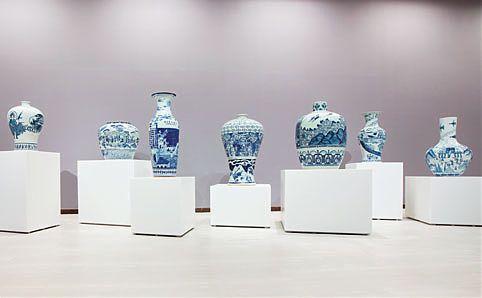Raed Yassin's stunning piece, 'China', at Singapore Art Museum.