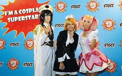 Cosplayers from last year's STGCC.