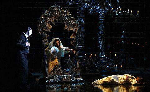 A scene from the brilliant 'Phantom of the Opera'.