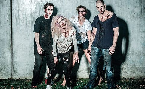 Zombies celebrate the season of the (un)dead! Image courtesy of Universal Studios Singapore.