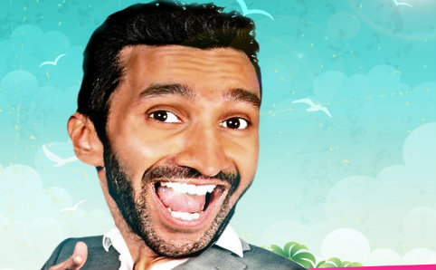 UK comedian Imran Yusuf, in the form of a bobble-head. Image courtesy of Comedy Club Asia.