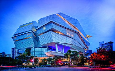 The Star Vista shopping mall at Buona Vista. Photo courtesy of the World Architecture Festival.