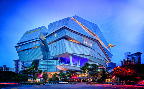 The Star Vista shopping mall at Buona Vista. Photo courtesy of the World Architecture Festival.