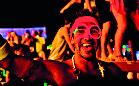 Ring in the new year by partying it up on the beaches of Bali!