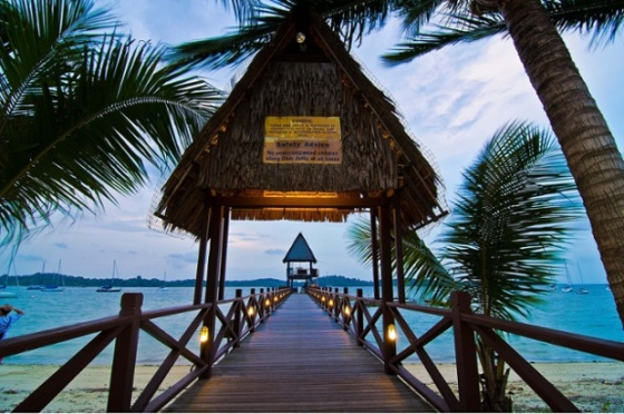 Changi Village Beach. Photo: Wang Guowen/Flickr