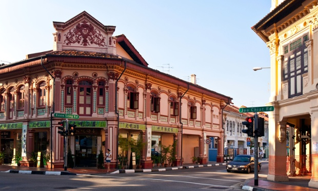 The intersection of Joo Chiat and Koon Seng Roads. Photo: Alamy