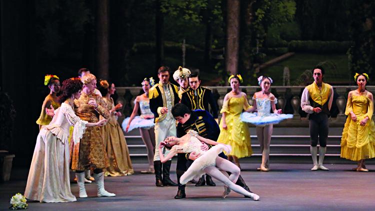 Singapore Dance Theatre's 'Sleeping Beauty'. Photo: Nicolethen Studio